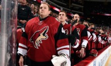 Coyotes Call on Banker to Serve as Emergency Backup Goalie vs. Canadiens on Monday
