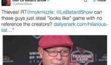 Dan Le Batard Calls Out Daily Snark for Ripping Off Brilliant @WhatHeLooksLike Twitter Feed (Tweets)