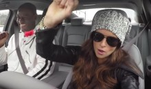 Danica Patrick Goes Undercover as a Lyft Driver, Gives Passengers a Scare (Video)