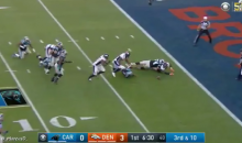 Von Miller With The Strip Sack; Malik Jackson Recovers For The TouchDown (Video)