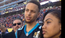 Girl Thinks Steph Curry is Injured Panthers Player, Wonders Why He's Not Playing