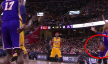 Lebron Gives D'Angelo Russell A Vasectomy With This Crotch Pass (Video)