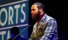 Seahawks DE Michael Bennett Takes Shot At Cam Newton While Receiving An Award