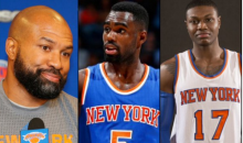 Derek Fisher Running The Triangle Offense On NBA Players Wives & GF's