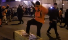 Broncos Fans Rioted & Violently Destroyed Property After SB Win (Video)