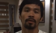 Manny Pacquiao Apologizes After Comparing Gay People To Animals (Video)