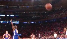 Let's All Laugh at This Draymond Green Free Throw Airball (Video)