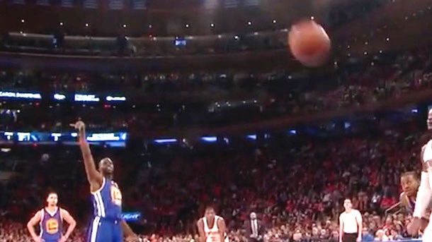 draymond green free throw airball