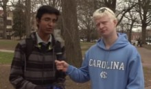Duke Fan Tricks UNC Fans into Saying Nice Things About Duke Players (Video)