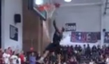Watch These Four White High Schooler Players Try Dunking and Fail Miserably (Video)