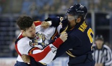 Evander Kane and Alex Petrovic Drop the Gloves THREE Times in One Game (Videos)