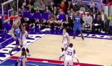Showman Dunker Aaron Gordon Throws Down One-Hander Vs. 76ers (Video)