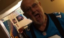 Angry Panthers Grandpa Destroys Everything After Super Bowl Loss (Video)
