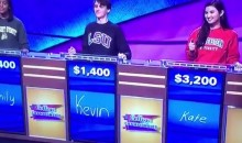 College Jeopardy Contestant from LSU Blows Back-to-Back SEC Questions (Video)