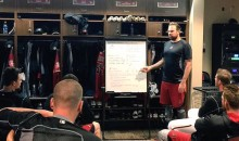 Diamondbacks Pitcher Josh Collmenter Teaches Physics to His Teammates (Video)