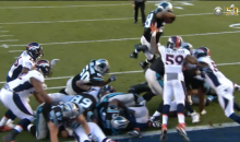 Panthers RB Jonathan Stewart's Superman Touchdown (Video)