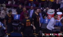 LeBron James Has a Choreographed Handshake for Everyone…Except Kevin Love (Video)