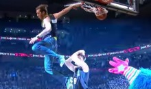 Jordan Kilganon Dunked at the All-Star Game in Jeans and Impressed EVERYONE (Video)