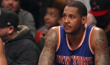 "Carmelo Anthony Is Not Happy He Heard ""Let's Go Heat"" Chants At Home Game"