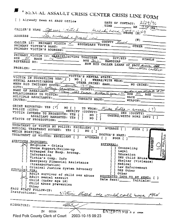 knoxville crisis center jamie naughtright peyton manning asault allegation 2