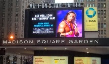 MSG Offers a Message to Bret 'Hitman' Hart in His Cancer Battle (Pic)