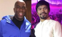 Magic Johnson Says He Won't Watch Another Manny Pacquiao Fight After Anti-Gay Remarks