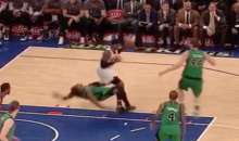 Marcus Smart With The Flop Of The Year; Melo Has Worst Shot Right After (Video)