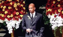 Thunder Coach Monty Williams Preaches Forgiveness at His Wife's Funeral (Video)