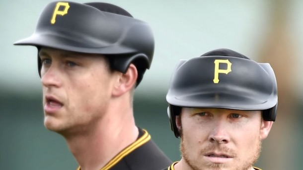 pittsburgh pirates pitching helmets