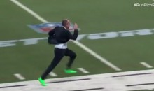 Rich Eisen Breaks His Own 40-Yard Dash Record While Trolling Cam Newton (Video)