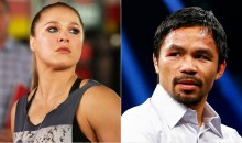 "Rousey On Pacquiao's Anti-Gay Comments: ""There Is No 'Thou Shall Not Be Gay'"" (Video)"