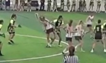 Savage Oregon Lacrosse Player Repeatedly Bashes Opponent in the Head with Her Stick (Video)