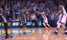 Stephen Curry Game Winner Vs. OKC From 35 Feet (Video)