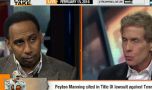 "Stephen A. Smith: ""Peyton Manning Can't Get A Pass, If This Was Brady, We'd Talk About It"" (Video)"