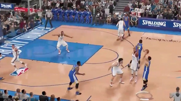 steph curry is too good for nba 2k