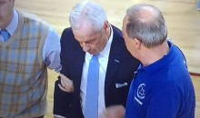 Roy Williams, UNC Basketball Coach, Collapses On Sidelines (Video)