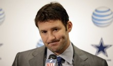 Tony Romo Throws 3 Interceptions While Watching The Super Bowl