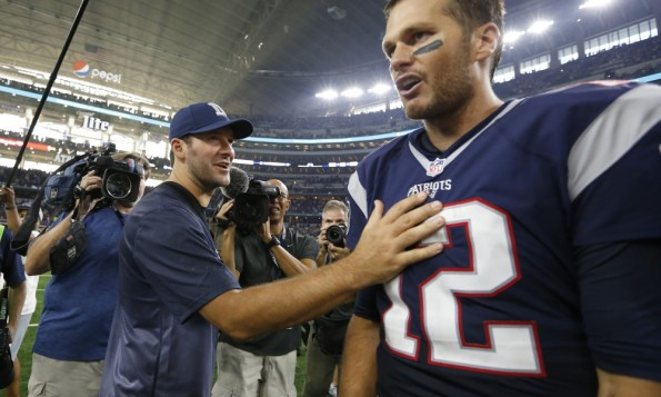 USP NFL: NEW ENGLAND PATRIOTS AT DALLAS COWBOYS S FBN USA TX