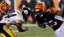 Bengals' Vontaze Burfict: 'I Don't Give No F*cks About The Steelers'