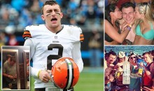 Breaking: Johnny Manziel Cut by Browns… Signs with Texas A&M Frat