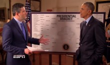 Barack-etology: Obama Fills Out His Final NCAA Tourney Bracket as President (Video)