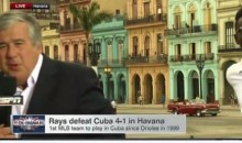 SportsCenter's Bob Ley Gets Startled By Protester While Reporting Live In Cuba (Video)