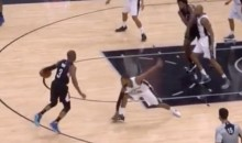 One-Shoed Patty Mills Stood Zero Chance Against Chris Paul's Crossover (Video)