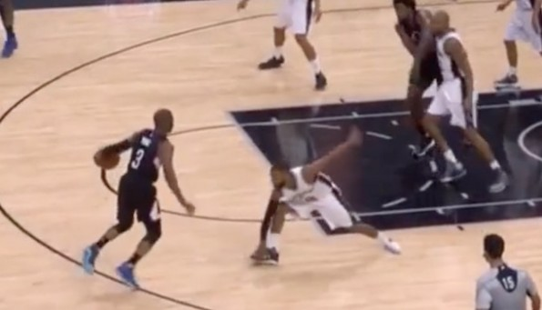 Chris Paul Crossover Patty Mills