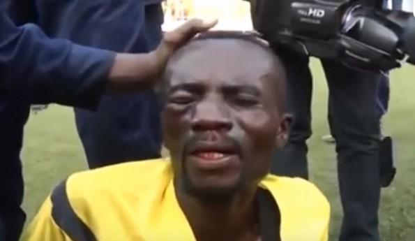 Congo Referee Attacked