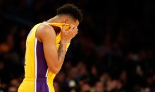 Lakers Fans Boo and Taunt D'Angelo Russell During Game vs. Heat (Video)