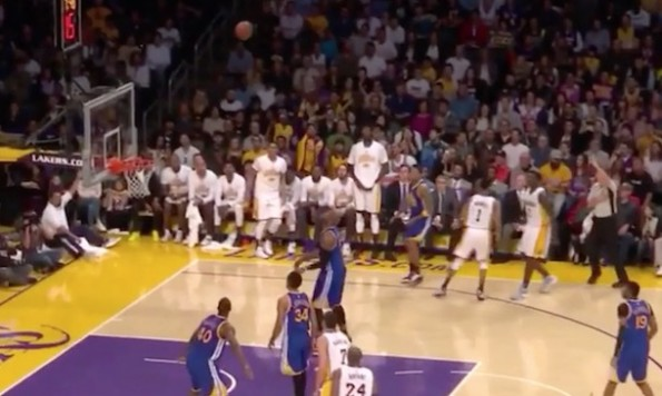 D'Angelo Russell look away three