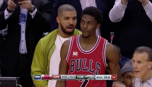 Drake distract Justin Holiday