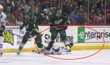 Duncan Keith Ejected For Swinging Stick at Charlie Coyle's Face (Video)