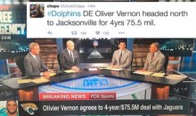 ESPN Falls For Fake Olivier Vernon Free Agency Report, Apologize on Air (Video)